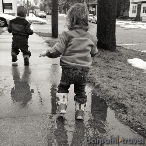 Puddle Walk | Bambini Travel