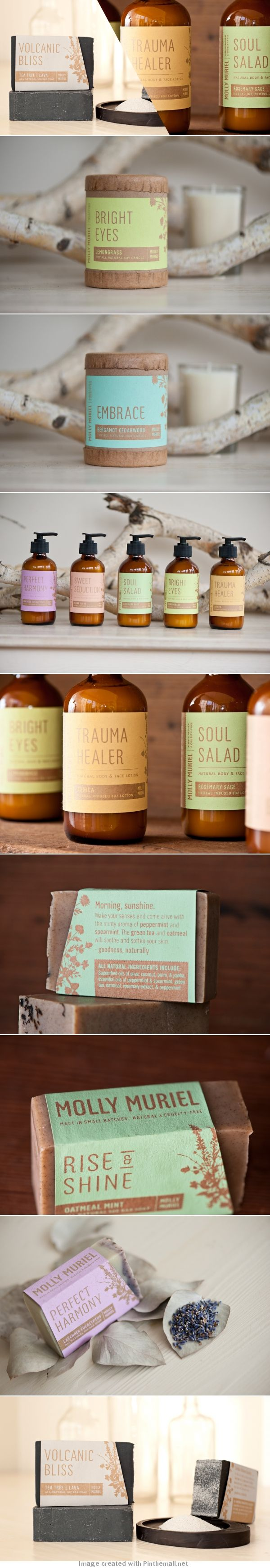 Unique Packaging Design on the Internet, Molly Muriel #packagingdesign #packaging #design http://www.pinterest.com/aldenchong/design/