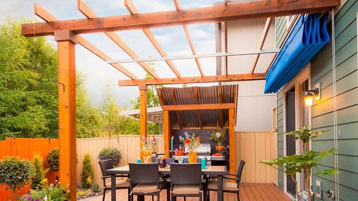 This kind of awning makeover is genuinely a stunning ...