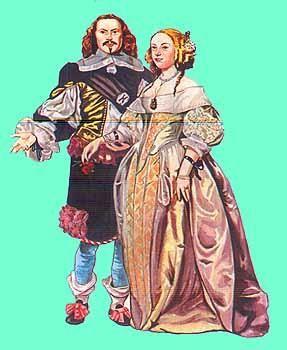 История костюма барокко в эпоху возрождения во франции