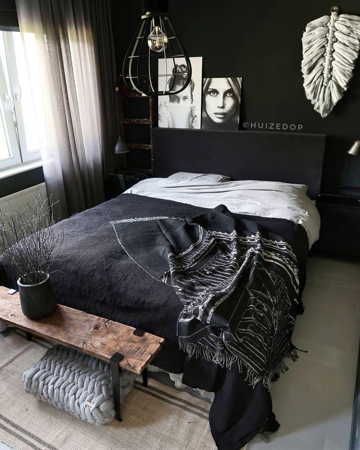Beautiful bedroom interior idea #bedrooms #sleepingroom #slaapkamerdesign #déco #interieurontwerp #decoracióndeinterior #meubels