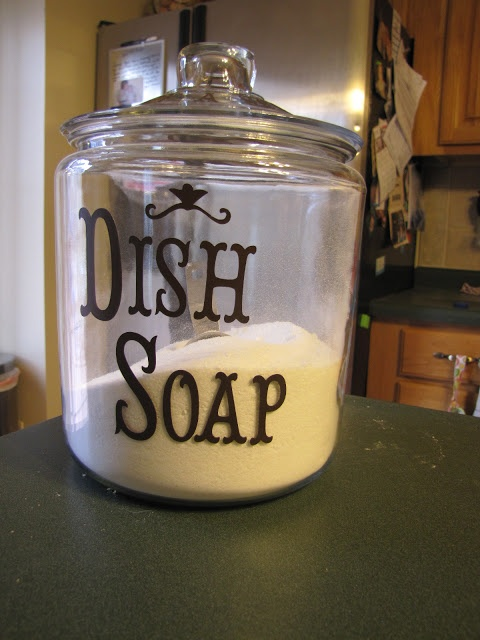 I Love Making Awesome Stuff!: Homemade Dish Washer Detergent: A Knock Off