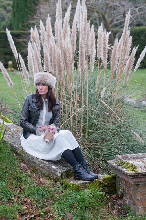Sheepskin Stella Hat - Aubrac