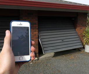 smart phone controlled garage door opener