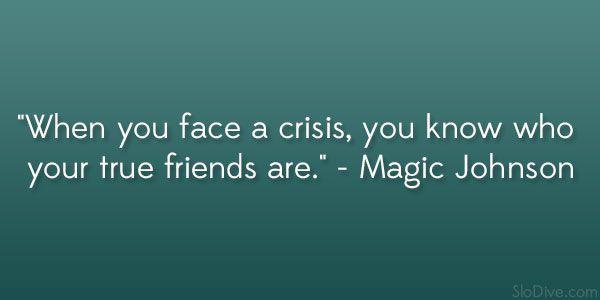 magic johnson quote 32 Sensible Quotes About True Friends