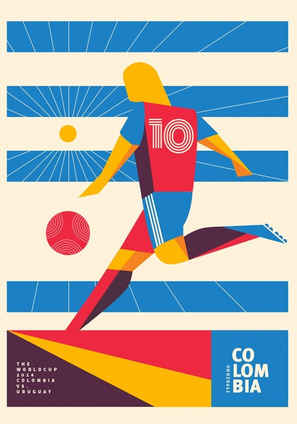 32|64|90: Uniform has enlisted a creative from each competing country in the World Cup to produce an original artwork in response to their nation's games within 90 minutes of the final whistle - results are posted at 326490.com