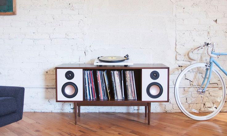 Old School Modernity - the Department Chicago Hi-Fi Console