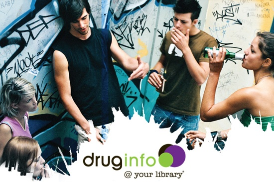 drug info @ your library provides up to date information about alcohol and drugs on the website and through local public libraries in New South Wales. drug info @ your library is a joint initiative of NSW Health and the State Library of NSW. Find out more at : http://www.druginfo.sl.nsw.gov.au