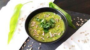 Kartoffel-Bärlauch-Suppe I vegan