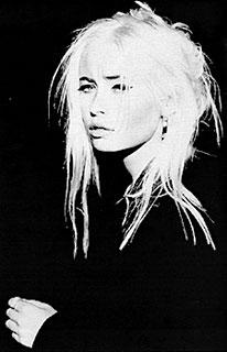 Wendy James 'Transvision Vamp'. My nephew @John Searles McArthur had a crush on her when he was 3.