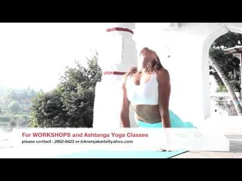 ashtanga yoga workshop in jakarta, indonesia with  Laruga