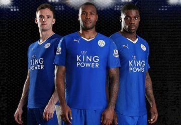 Leicester City FC 2015/16 PUMA Home Kit