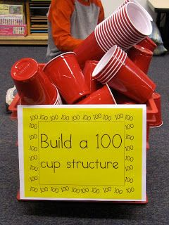 Build a structure that will stand with 100 solo cups