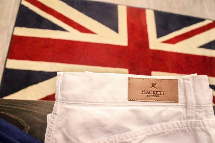 Everyone should own one pair of white pants. We quite like this pair from Hackett London.  #YYCFashion #YYCStyle #CoreShopping #YYC #YYCliving #HackettLondon #Calgary
