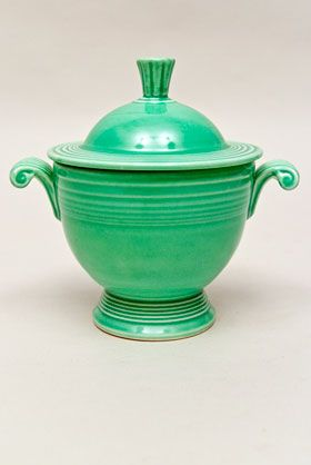 Sugar Bowl  Vintage fiesta ware. Just bought one at auction along with the creamer in yellow.