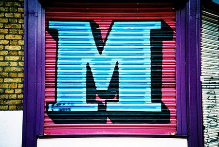 Graffiti Alphabet Letter M Sketches 4
