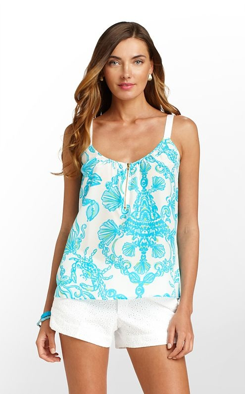 Okay, we know it's time to start thinking about cute FALL clothes, but it's still summer, after all - LOVE this Lilly Pulitzer top - looks like an underwater scene ... wait, is that a SEAHORSE???   www.christchurchschool.org