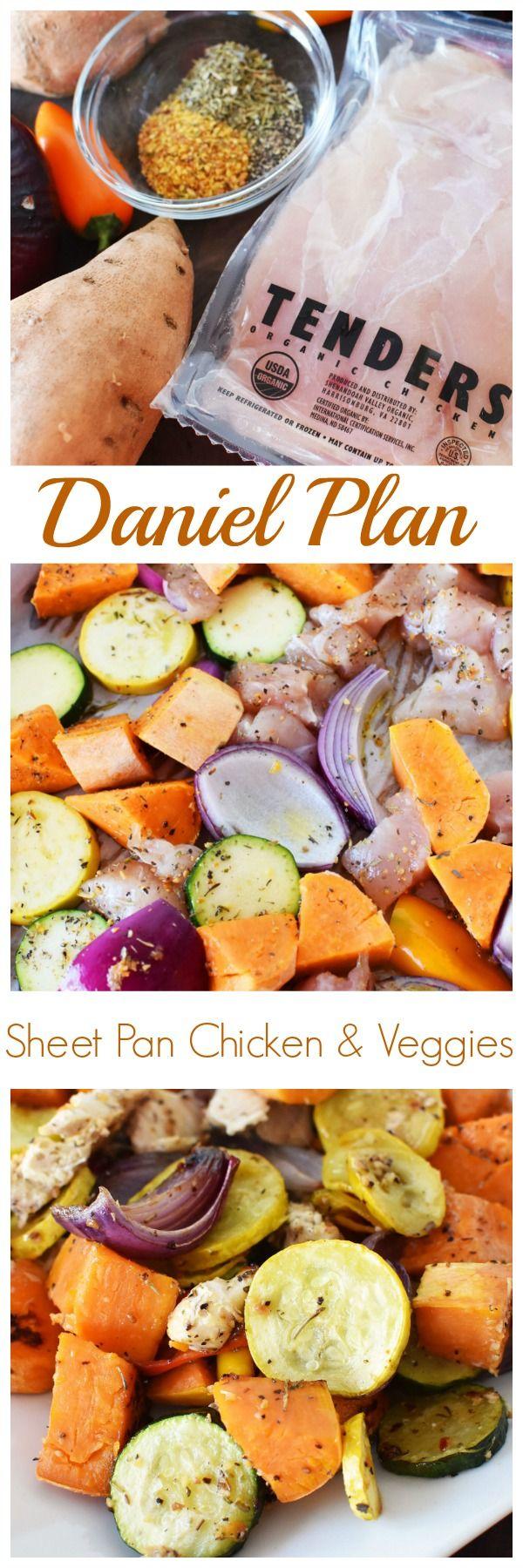 Daniel Plan Sheet Pan Chicken and Veggies
