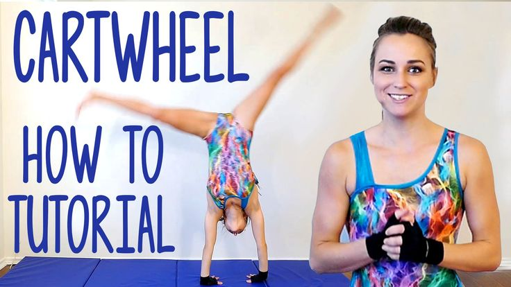 Cartwheel Tutorial! Gymnastics Workout At Home, Flexibility Stretches, Exercise Routine  Coach Joy teaches you how to do CARTWHEELS!! This quick routine covers important stretches and strength-building exercises to prepare you to tumble!