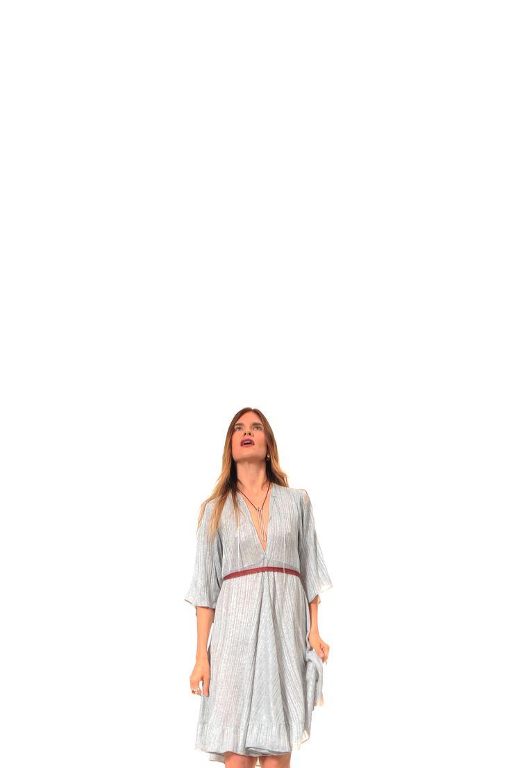 dress         - Nir Lagziel jewels        - Natsuko Toyofuku make+hair - Luca Apri starring      - Julia Mashinskaia shooting in spaziocorsocomo9 milan 2016 #fashion #fashion-addicted #jewelry #silver #red #modeling #fashionblogger #accessories #mode #bijoux #argent #rouge #schmuck #silber #rot #gioielli #moda #argento #rosso #accessori