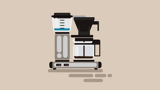 motion graphics Coffee in 200 frames by Steffen Lyhne. A little homage to the mighty moccamaster