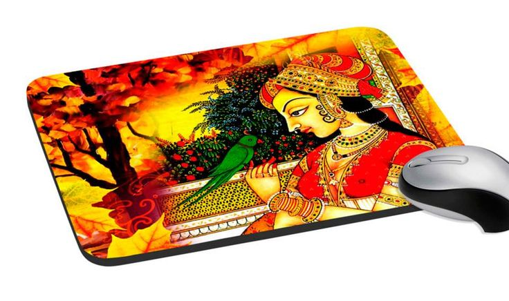 Mouse Pad ... Beautiful Indian Queen Print