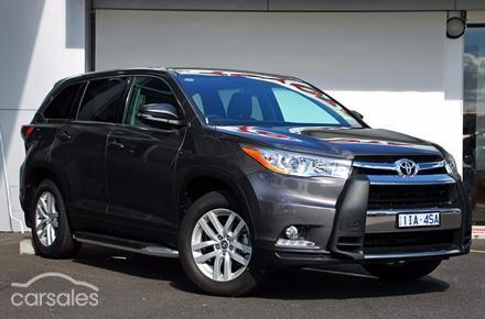 2016 Toyota Kluger GX Auto 2WD