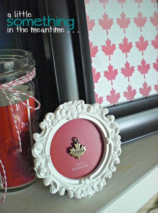 A Little Something in the Meantime: Ombre Canada Printable