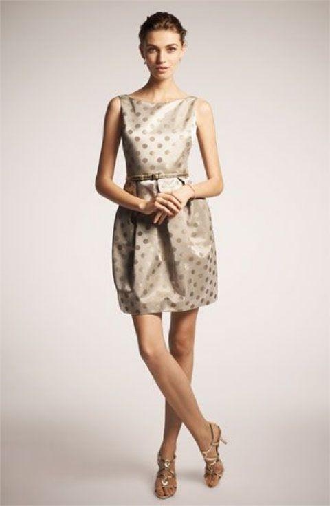 37 besten Chic Polka Dot Bridesmaids\' Dresses Bilder auf Pinterest ...