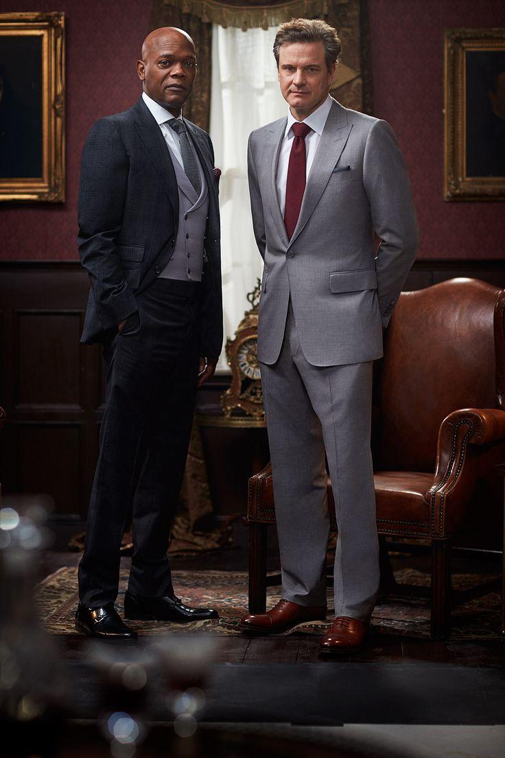 Samuel L. Jackson & Colin Firth in Kingsman: The Secret Service (Matthew Vaughn, 2015)