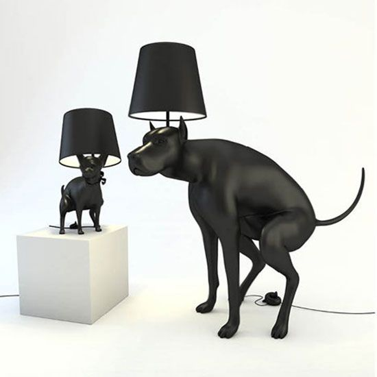 Oh I WANT these lamps... yes I do!!Lights, Puppies, Funny Dogs, Interiors Design, Too Funny, Dogs Poop, Poop Dogs, Boys Lamps, Dogs Lamps