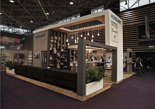Exhibition Booth Behance : Hungarian national stand at sirha lyon on behance