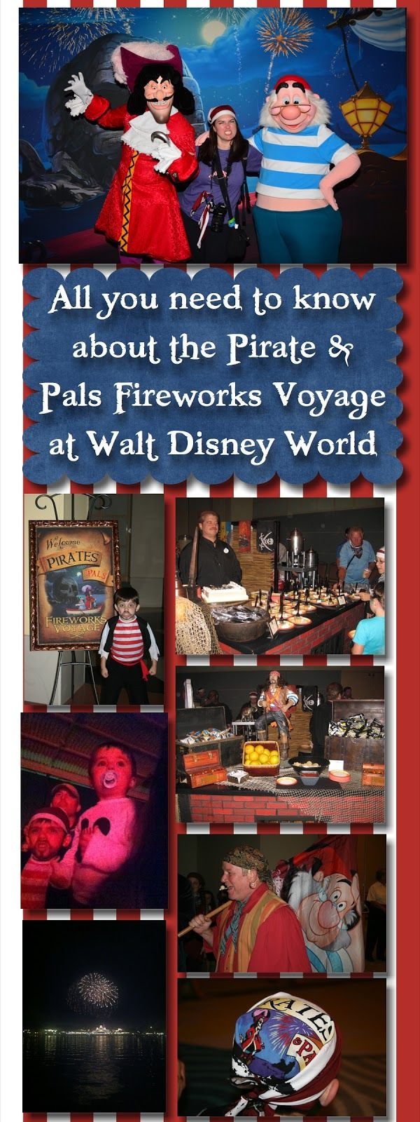 A Disney Mom's Thoughts: All About Disney's Pirates and Pals Fireworks Voyage at Disney World  | Disney World with Kids