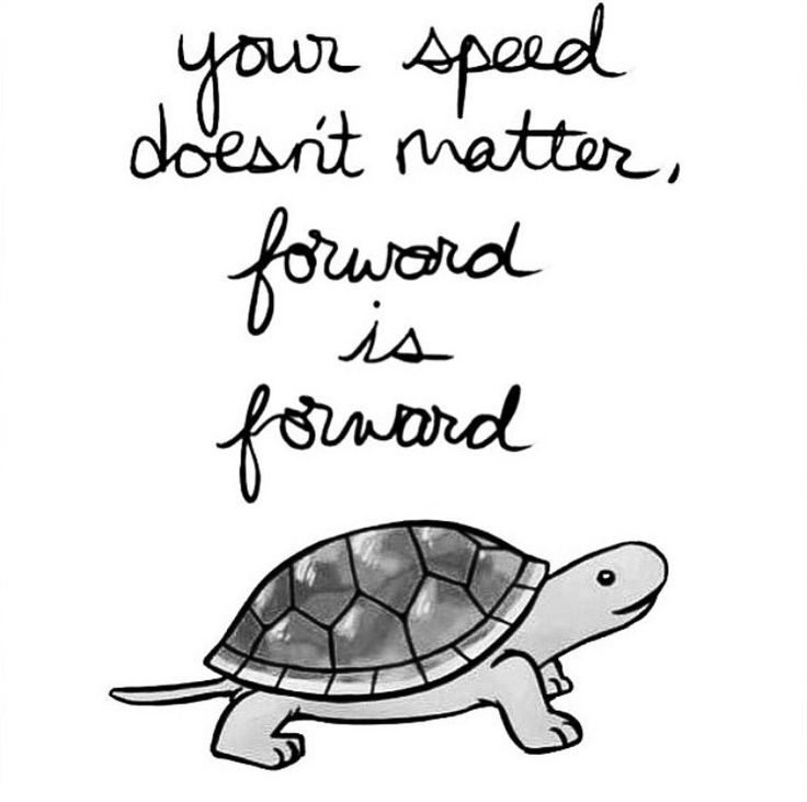 """.#morningthoughts #quote """"Your speed doesn't matter. Forward is forward"""""""