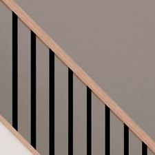 Black Spindles   Stair Parts   Metal Extruded Aluminium   Decking Spindles