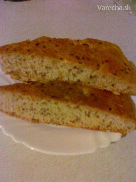 Chlebový posúch zo špaldovej múky a ovsených otrúb