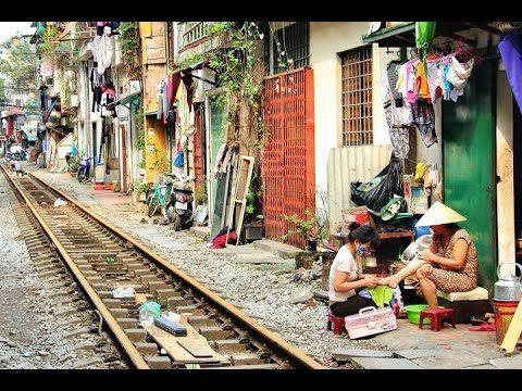 Viajar en tren por Vietnam, las via mas bombardeadas del mundo