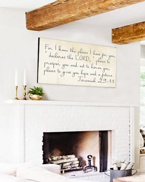 Love the Fixer Upper Style home decor? Our farmhouse scripture canvas sign is sure to give you the fixer upper styled home. We know you look high and low for th