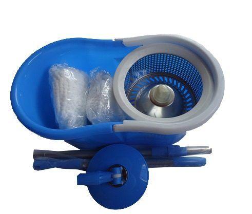 Spin Mop 360 Inox ( Balde+esfregão+2refil) - R$ 79,99 no MercadoLivre. Spin Mop 360  Cesta de centrifugação em INÓX modelo cód:  S-6s02   com sistema de acionamento telescópio de centrifugação  mop 5,9 litros com  Cabo 1,20 mts com refil esfregão de microfibra Spin mop, este produto é sucesso em vendas nos EUA e Europa agora também no Brasil. Nossos produtos tem certificado de qualidade  ISO 9001 SGS