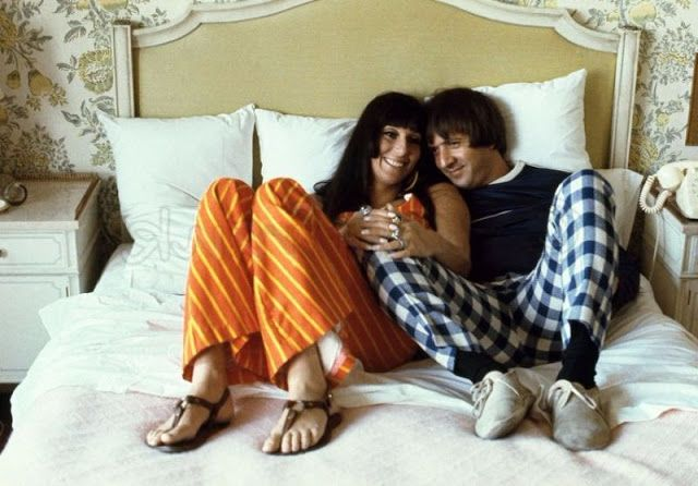Sonny & Cher: 30 Lovely Photos of American Singer Couple in the 1960s ~ vintage everyday