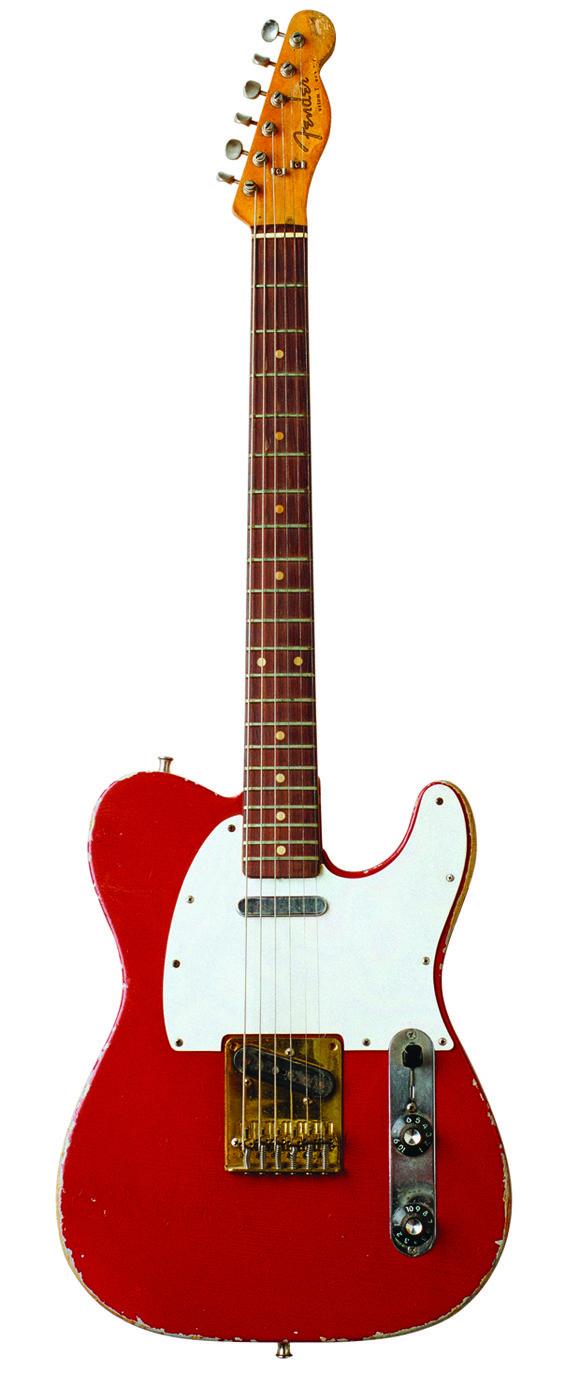 Muddy Waters' 1958 Fender Telecaster