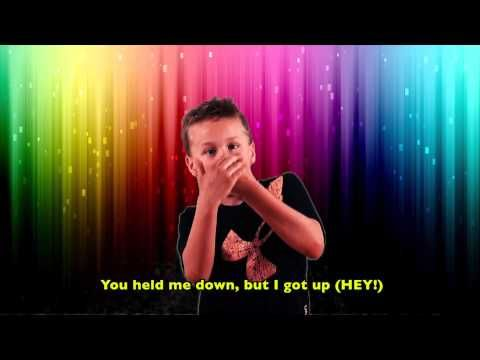 Parents from Kendall Parent Teacher Association (KPTA) produced this video of the Roar song by Katy Perry with Deaf children. For more information, go to kde...