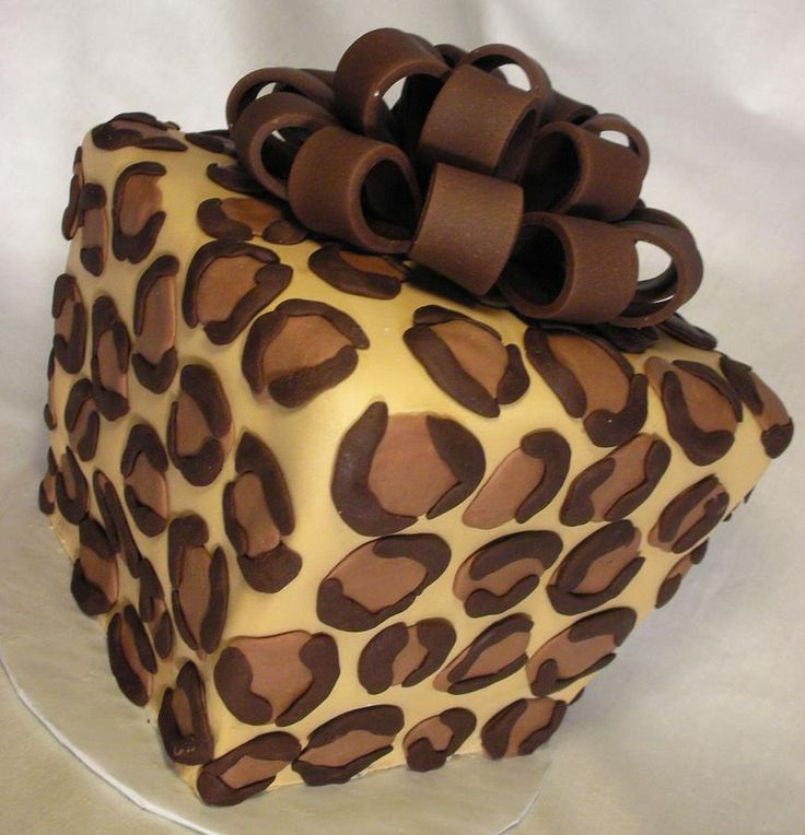 Leopard Cake  - mm looks good!