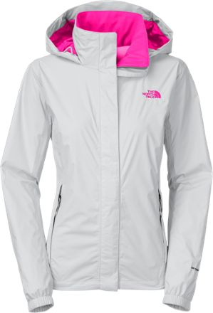 Adding a little substance and increased breathability to a lightweight waterproof shell, the North Face Resolve rain jacket keeps comfort a priority with an interior mesh lining.