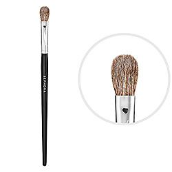 Favorite eyeshadow brush. Tap and press eye shadow on perfectly with the sides,  then use the tip to blend in a windshield-wiper motion. Best brush ever!  SEPHORA COLLECTION - Pro Blending Brush