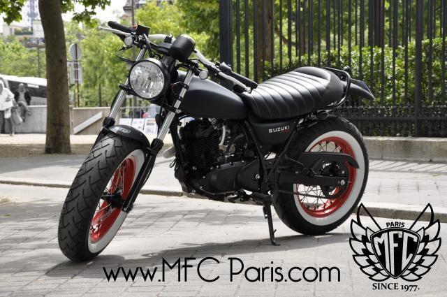 Suzuki VAN-VAN Black Japan by MFC Paris
