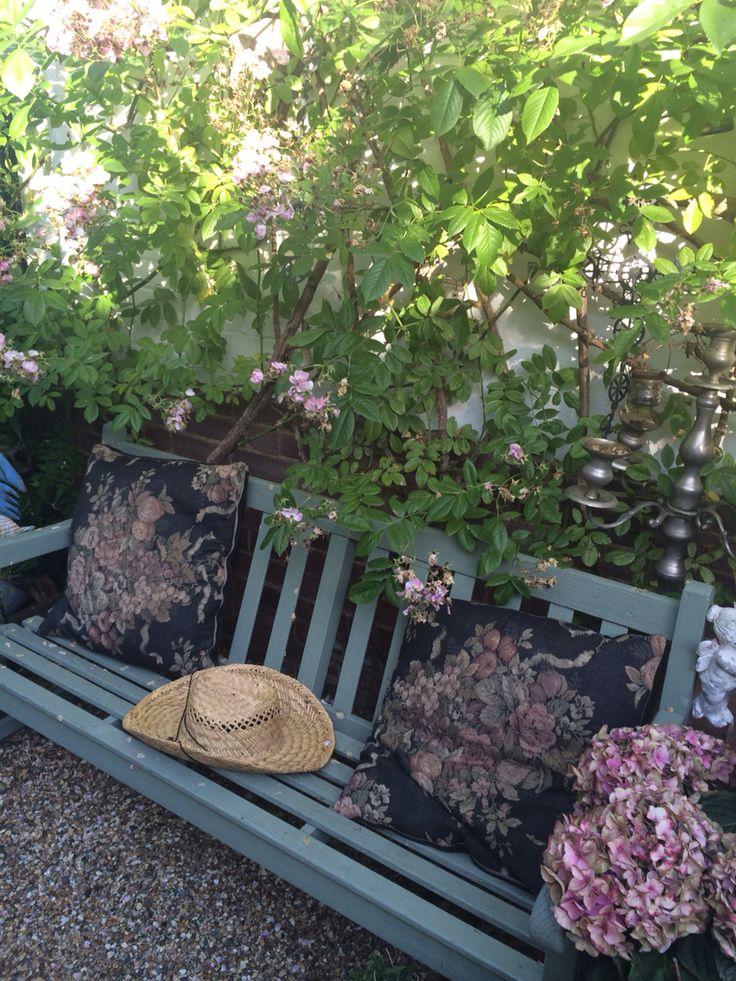 Garden bench by Rachel daly