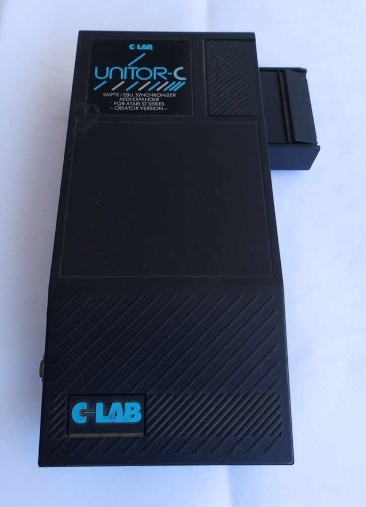 Atari 520 1040 St STF STFM Ste Mega Computer C Lab Unitor 2 MIDI Expansion Unit
