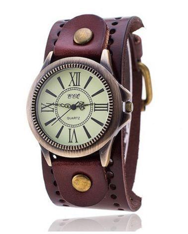 727d8fc8a25 Relógio Feminino Pulseira de couro