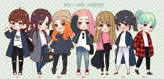 BTS - GIRL VERSION   OMG Rapmonster is fabulous!